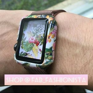 Apple Watch case New Floral printed Case